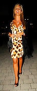 01.JULY.2007. LONDON<br /> <br /> DANIELLE LLOYD LEAVING THE DIANA CONCERT AFTERPARTY AT WEMBLEY ARENA.<br /> <br /> BYLINE: EDBIMAGEARCHIVE.CO.UK<br /> <br /> *THIS IMAGE IS STRICTLY FOR UK NEWSPAPERS AND MAGAZINES ONLY*<br /> *FOR WORLD WIDE SALES AND WEB USE PLEASE CONTACT EDBIMAGEARCHIVE - 0208 954 5968*