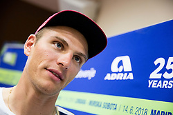 Marcel Kittel during press conference of 25th Tour de Slovenie 2018 cycling race, on June 12, 2018 in Hotel Livada, Moravske Toplice, Slovenia. Photo by Vid Ponikvar / Sportida