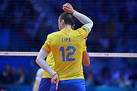 Like  of Brazil.<br /> Torino 29-09-2018 Pala Alpitour <br /> FIVB Volleyball Men's World Championship <br /> Pallavolo Campionati del Mondo Uomini <br /> Semifinal<br /> Brasile - Serbia / Brazil - Serbia<br /> Foto Antonietta Baldassarre / Insidefoto