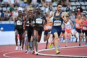 Mounir Akbache (FRA) competes in 1500m Men during the Meeting de Paris 2018, Diamond League, at Charlety Stadium, in Paris, France, on June 30, 2018 - Photo Julien Crosnier / KMSP / ProSportsImages / DPPI