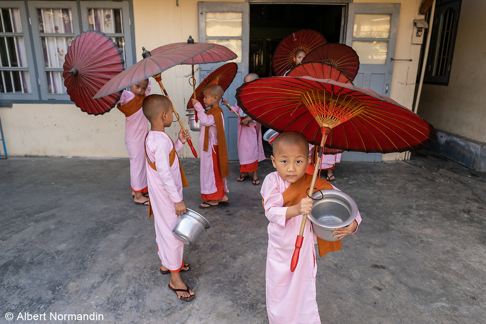 Compassion and Peace Nunnery, Nyaung Shwe, Myanmar