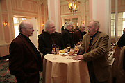 Geoff Waterhouse, Bob Wilson and Trevor Bayliss, Oldie of the Year Awards. Simpsons-in-the-Strand. London. 13 March 2007.  -DO NOT ARCHIVE-© Copyright Photograph by Dafydd Jones. 248 Clapham Rd. London SW9 0PZ. Tel 0207 820 0771. www.dafjones.com.