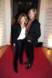 NICKY CLARKE and KELLY HOPPEN at Vogue's Fantastic Fashion Fantasy Party in association with Van Cleef & Arpels to celebrate Vogue's Secret Address Book held at One Marylebone Road, London NW1 on 3rd November 2008.