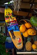 Hukilau Marketplace. Polynesian Cultural Center, Laie, Oahu, Hawaii