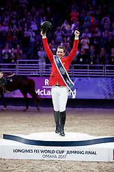 Ward Mclain, USA<br /> Longines FEI World Cup Jumping Final IV, Omaha 2017 <br /> © Hippo Foto - Stefan Lafrentz<br /> 02/04/2017