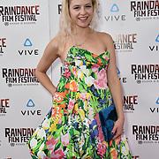 Chagall van den Berg  is a UX Designer nominated attends the Raindance Film Festival - VR Awards, London, UK. 6 October 2018.
