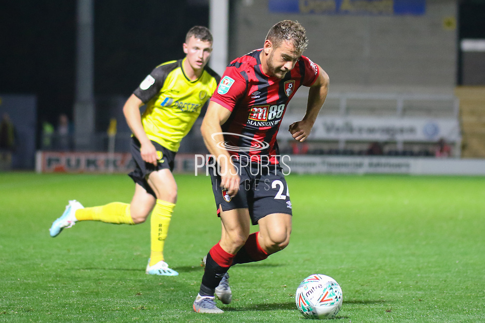 Bournemouth midfielder Ryan Fraser during the EFL Cup match between Burton Albion and Bournemouth at the Pirelli Stadium, Burton upon Trent, England on 25 September 2019.
