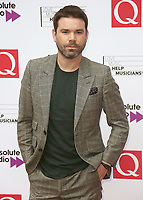 Dave Berry, The Q Awards 2017 - Red Carpet Arrivals, Roundhouse, London UK, 18 October 2017, Photo by Brett D. Cove