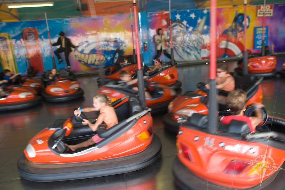 Bumper Cars, Casino Pier Amusement Park, Seaside Heights, NJ