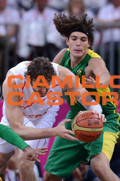 DESCRIZIONE : London Londra Olympic Games Olimpiadi 2012 Men Preliminary Round Spagna Brasile Spain Brazil<br /> GIOCATORE : Pau Gasol<br /> CATEGORIA :<br /> SQUADRA : Spagna Spain<br /> EVENTO : Olympic Games Olimpiadi 2012<br /> GARA : Spagna Brasile Spain Brazil<br /> DATA : 06/08/2012<br /> SPORT : Pallacanestro <br /> AUTORE : Agenzia Ciamillo-Castoria/M.Marchi<br /> Galleria : London Londra Olympic Games Olimpiadi 2012 <br /> Fotonotizia : London Londra Olympic Games Olimpiadi 2012 Men Preliminary Round Spagna Brasile Spain Brazil<br /> Predefinita :