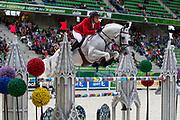 Olivier Philippaerts - Cabrio van de Heffinck<br /> Alltech FEI World Equestrian Games™ 2014 - Normandy, France.<br /> © DigiShots