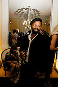 Ben Okri, Vanity Fair and Dom Perignon celebrated a collection of essays on Seduction in aid of English PEN. Dom Perignon Ballroom. 8 September 2004. SUPPLIED FOR ONE-TIME USE ONLY-DO NOT ARCHIVE. © Copyright Photograph by Dafydd Jones 66 Stockwell Park Rd. London SW9 0DA Tel 020 7733 0108 www.dafjones.com