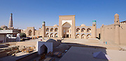 Uzbekistan, Khiva. Kultlimurodinok Medressa.