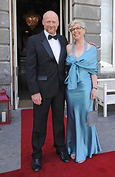 Pictured at the Mid-Summer Banquet at Westport Food Festival at Wesport House on friday last were Boyd Gale and Lesley Emerson.<br />Pic Conor McKeown