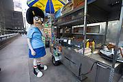 Tina Belcher of Bob's Burgers tours around New York City with Fox Network