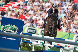 Michael Jung, (GER), Fischerrocana FST - Jumping Eventing - Alltech FEI World Equestrian Games™ 2014 - Normandy, France.<br /> © Hippo Foto Team - Jon Stroud<br /> 31-08-14