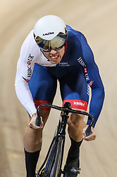 March 2, 2018 - Apeldoorn, Netherlands - Ryan Owens of Great Britain competes in Men's sprint qualifying during the UCI Track Cycling World Championships in Apeldoorn on March 2, 2018. (Credit Image: © Foto Olimpik/NurPhoto via ZUMA Press)