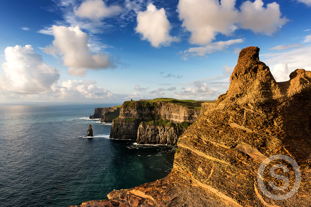 "Photographer"" Chris Hill Cliffs of Moher, County Clare"