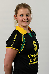 29-10-2014 NED: Selectie Prima Donna Kaas Huizen vrouwen, Huizen<br /> Selectie seizoen 2014-2015 / Lisa de Groes