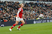 Beth Mead in action during the FA Women's Super League match between Tottenham Hotspur Women and Arsenal Women FC at Tottenham Hotspur Stadium, London, United Kingdom on 17 November 2019.