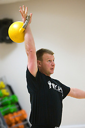 Kettlebell Seminar with Davey Jenkins at the Petershill Park Leisure Centre, Glasgow.Pic ©2010 Michael Schofield. All Rights Reserved.