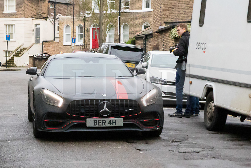 © Licensed to London News Pictures. 06/03/2019. London, UK.  Stoke City footballer, Saido Berahino leaves Highbury Corner Magistrates court in his car. The Stoke City and Burundi striker, Saido Berahino has been charged with drink-driving.  Photo credit: Vickie Flores/LNP