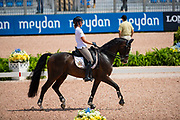 Laurence Roos - Fil Rouge<br /> FEI World Equestrian Games Tryon 2018<br /> © DigiShots