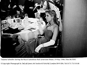 Tatjiana Schoeller during the Royal Caledonian Ball. Grosvenor House. 19 May 1986. Film 86350f1<br />