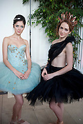 NATALIA KREMEN; KSENIA OVSYANICK; . English National Ballet Summer party.  All proceeds from the Summer Party go towards English National Ballet. The Orangerie. Kensington Palace. London. 29 June 2011. <br /> <br />  , -DO NOT ARCHIVE-© Copyright Photograph by Dafydd Jones. 248 Clapham Rd. London SW9 0PZ. Tel 0207 820 0771. www.dafjones.com.