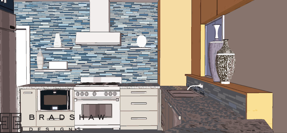 OLMOS PARK KITCHEN PREVIEW DRAWING
