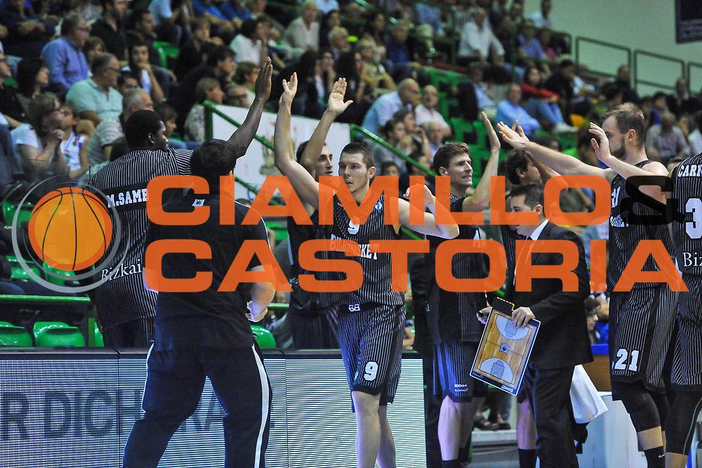 DESCRIZIONE : Eurocup 2013/14 Gir. B Dinamo Banco di Sardegna Sassari - Bilbao Basket<br /> GIOCATORE : Dairis Bertrans<br /> CATEGORIA : Ritratto Esultanza<br /> SQUADRA : Bilbao Basket<br /> EVENTO : Eurocup 2013/2014<br /> GARA : Dinamo Banco di Sardegna Sassari - Bilbao Basket<br /> DATA : 23/10/2013<br /> SPORT : Pallacanestro <br /> AUTORE : Agenzia Ciamillo-Castoria / Luigi Canu<br /> Galleria : Eurocup 2013/2014<br /> Fotonotizia : Eurocup 2013/14 Gir. B Dinamo Banco di Sardegna Sassari - Bilbao Basket<br /> Predefinita :