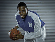 Hampton University senior Danny Agbelese headshot in Hampton, Virginia.  October 07, 2011  (Photo by Mark W. Sutton)