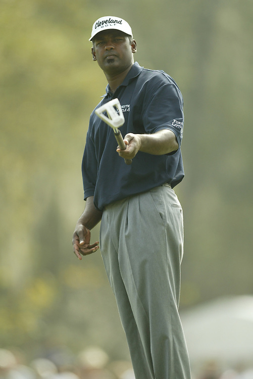 Vijay Singh.2003 Tour Championship.First Round.Champions Golf Club.Houston, TX.November 6, 2003..photograph by Darren Carroll