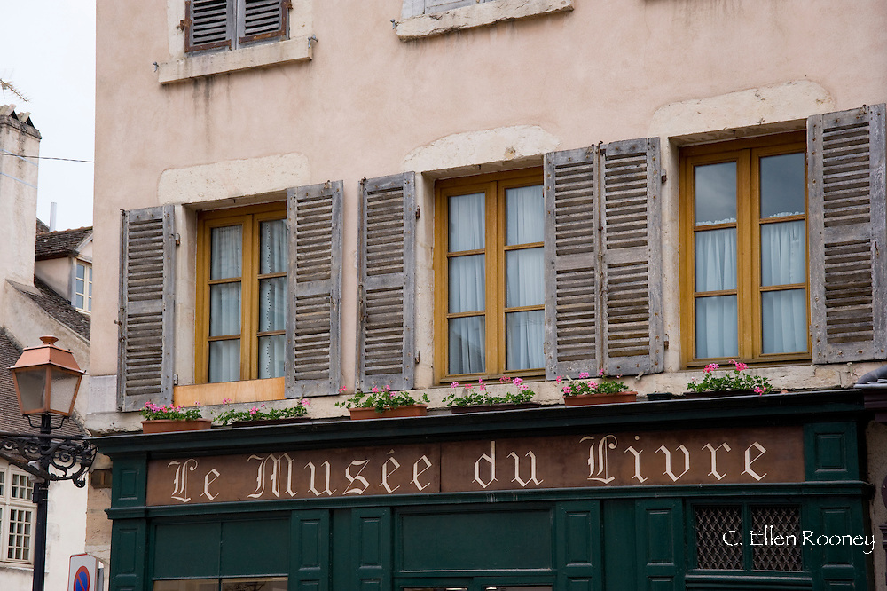 An old building in Beaune, France