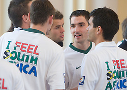 Branko Ilic at Reception of Slovenian National football team at president of Republic of Slovenia dr. Danilo Turk after Slovenia qualified for the FIFA World Cup South Africa 2010, in President's place , Ljubljana, Slovenia.   (Photo by Vid Ponikvar / Sportida)