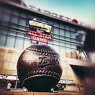 iPhone Instagram of Target Field in Minneapolis, Minnesota on September 17, 2014