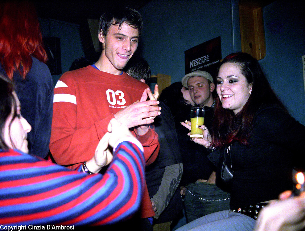 Young people of Sarajevo enjoy the weekends with a lot of drinking and music in local bars till early mornings.