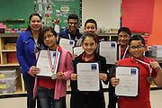 Pilgrim Academy students who won the IMarEST challenge.
