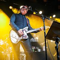 Elvis Costello in concert at The Barrowlands Ballroom, Glasgow, Scotland, Britain, 13th July 2016