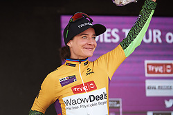 Marianne Vos (NED) wins the general classification at Ladies Tour of Norway 2018 Stage 3. A 154 km road race from Svinesund to Halden, Norway on August 19, 2018. Photo by Sean Robinson/velofocus.com