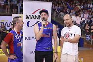 2/11/2014 NBL Adelaide 36ers vs NZ Breakers at the Adelaide Arena. Photo by Kelly Barnes/AllStar Photos