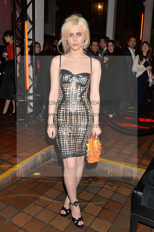 BILLIE JD PORTER at the YSL Beauty: YSL Loves Your Lips party held at The Boiler House,The Old Truman Brewery, Brick Lane,London on 20th January 2015.