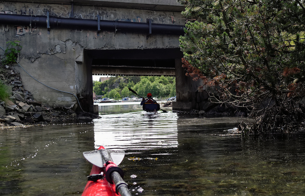 Kristiansand by kayak