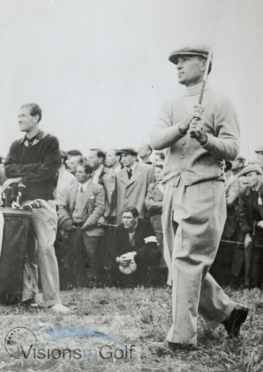 Ben Hogan, The Open Championship 1953 at Carnoustie<br /> <br /> Picture Credit: &copy;Visions In Golf