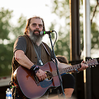 Steve Earle performs at the Green River Festival, Greenfield, MA, July 12, 2015