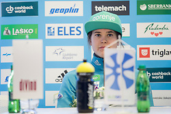 Ursa Bogataj during press conference before FIS Ski World Cup Ladies competition in Ljubno 2018 on January 24, 2018 in BTC, Ljubljana, Slovenia. Photo by Urban Urbanc / Sportida