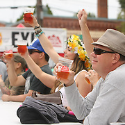Beer Garden at the 2013 Fremont Fair.