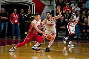 Micov Vladimir<br /> Openjobmetis Varese - A X Armani Exchange Milano<br /> Openjobmetis Varese - <br /> Basket Serie A LBA 2018/2019<br /> Varese 03 April 2019<br /> Foto Mattia Ozbot / Ciamillo-Castoria
