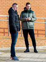 02/02/15<br /> CELTIC PARK - GLASGOW<br /> Celtic manager Ronny Deila at Celtic Park.