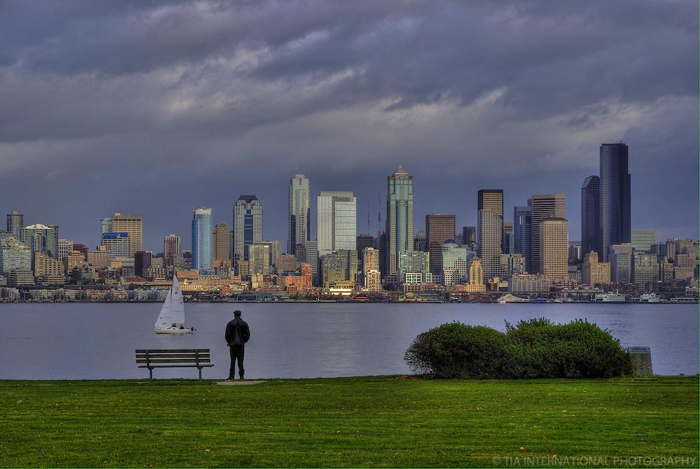 Skyline from West Seattle
